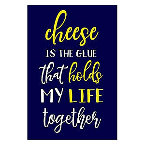 Cheese Is The Glue Notebook