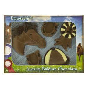 Chocolate Horse Riding Set