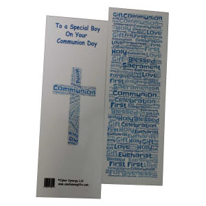 Communion Double Sided Bookmark