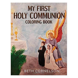 My First Holy Communion Coloring Book