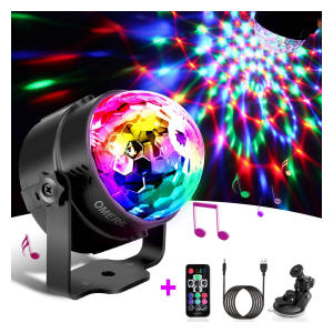 Sound Activated Disco Ball Lights
