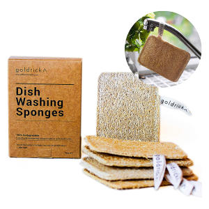 Organic Dishwashing Sponges X 5