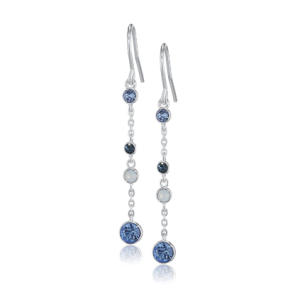Crystal Dangle and Drop Earrings