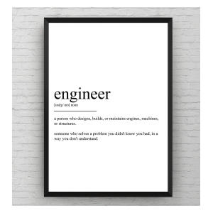 Novelty Engineer Definition Print