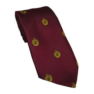 Royal Engineers Maroon Regimental Tie