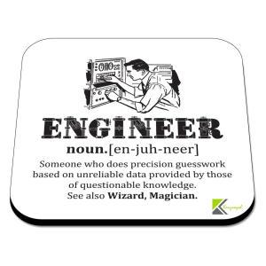 Novelty Engineer Coaster