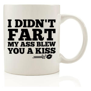 I Didn't Fart Mug