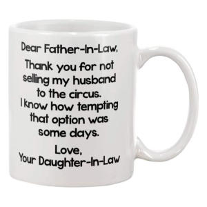 Funny Father in Law Mug