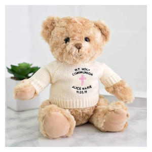 Embroidered Holy Communion Teddy Bear