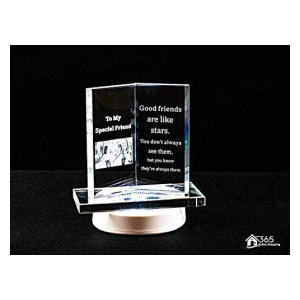Special Friends Engraved LED Plaque