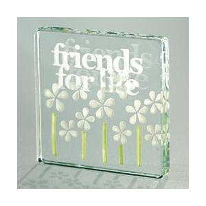 Friends For Life Glass Token