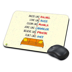 Friends TV Show Novelty Mousemat