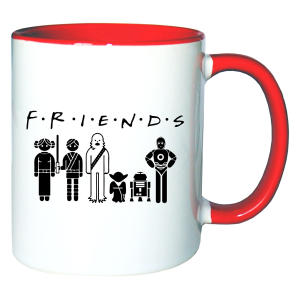 Friends Teacup Mug