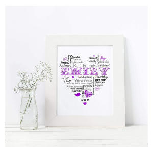 Best Friends Personalised Print