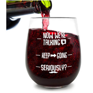Stemless Unbreakable Funny Wine Glass