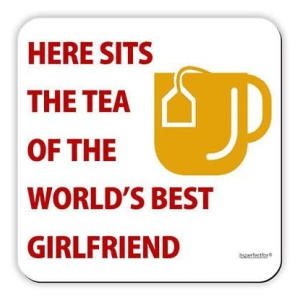 Best Girlfriend - Drinks Coaster