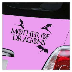 Game of Thrones Car Sticker