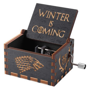Game of Thrones Wood Music Box