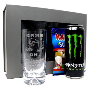 Personalised Gamer Design Highball Glass