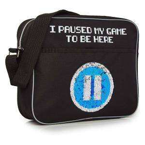 Funny Gamers Messenger Bag