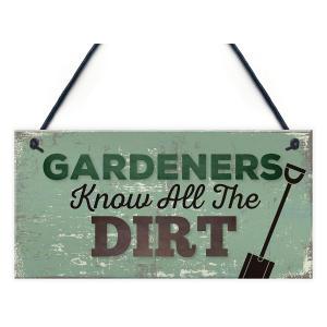 Novelty Gardeners Sign