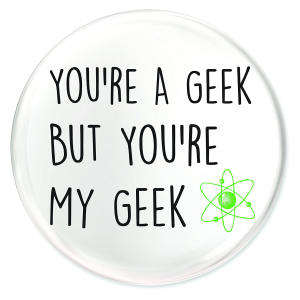 Geek Fridge Magnet