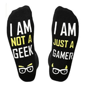I Am Not a Geek Socks