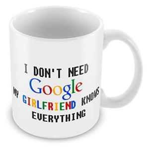 Novelty Google Girlfriend Mug