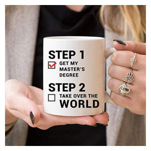Graduation Masters Degree Mug