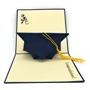 Graduation Cap Pop Up Card