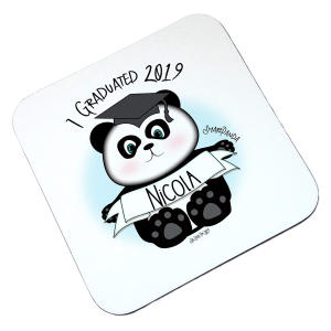 Personalised Graduation Coaster