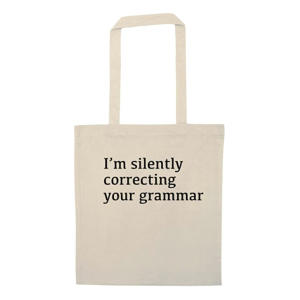 Intellectual Funny Shopping Bag