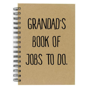 Grandad's Book of Jobs To New