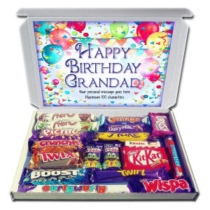 Personalised Grandad Chocolate Selection