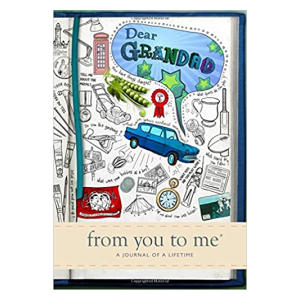 Dear Grandad Memory Journal