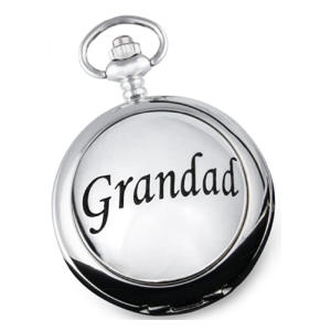 Grandad Engraved Pocket Watch