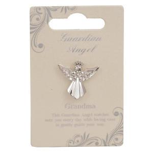 Grandma Guardian Angel Pin