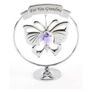 Grandma Swarovski Crystal Butterfly