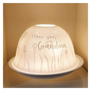 Candle Shade & Plate