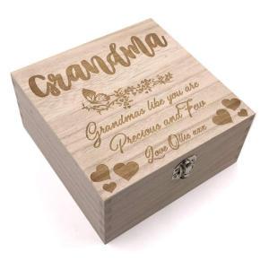 Grandma Personalised Keepsake Box