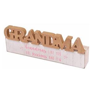 Grandma Word Block Plaque