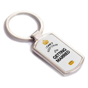 Getting Married Keyring