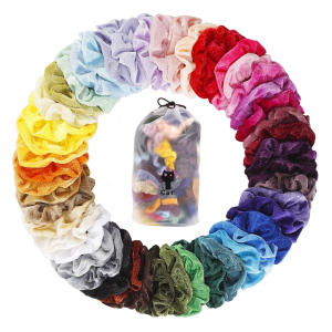 50 PCS Hair Scrunchies