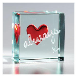 Always Red Heart Keepsake