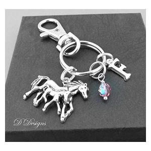 Horse and Foal Bag Charm