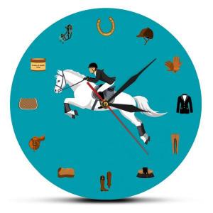 Horse Design Wall Clock