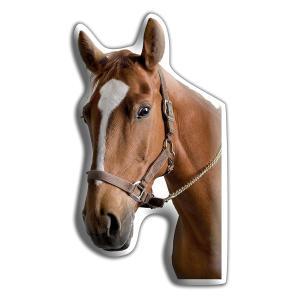 Horse Shaped Large Cushion