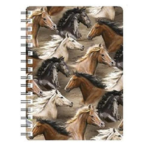 Horse Collage Notebook
