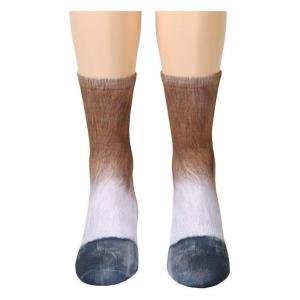 Horse Paws Pattern Socks