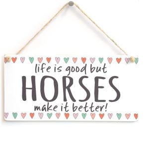 Beautiful Handmade Horse Sign